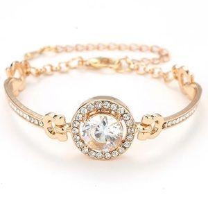 Sparkly Gold Bracelet